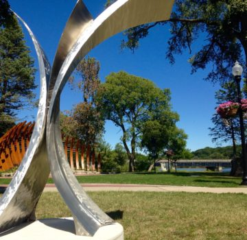 Public Art - Collision Sculpture