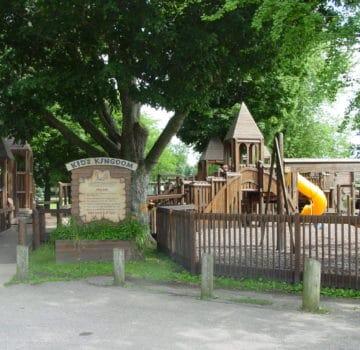 Entrance of Kids Kingdom