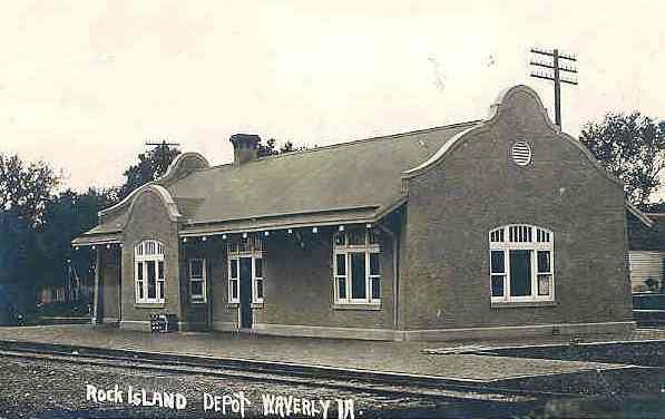 Rock Island Depot Historical image