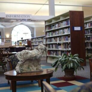 Waverly Library Interior