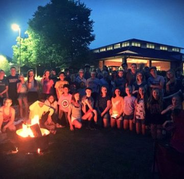 Library Teen Campfire