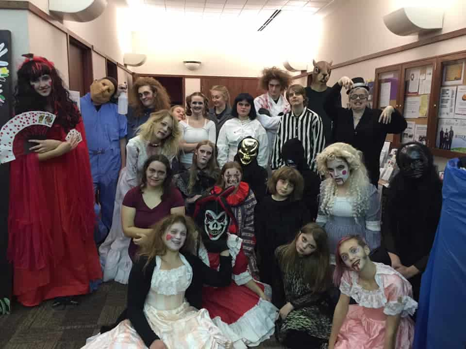 Library Teen Halloween Night