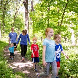 Rasmussen Family Walking